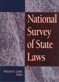 50 State Surveys National Survey of State Laws (Ref KF 386.