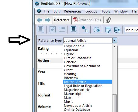 3 IMPORTING REFERENCES TO YOUR LIBRARY There are three ways to do it: 1. Manual Entry 2. Importing directly from within EndNote 3.