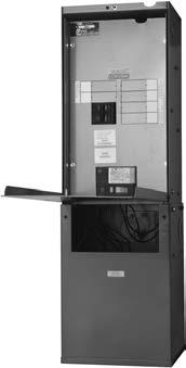 Servicenter Mini-Unit Substations Integral Transformer and Distribution Center Product Description This easily installed and serviceable unit incorporates a Type QMS transformer (single-phase) or a