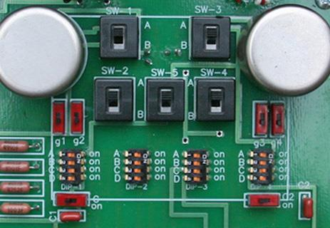 Setup for high output MM and MC cartridges Figure 5 shows the basic switch positions for high output cartridges.