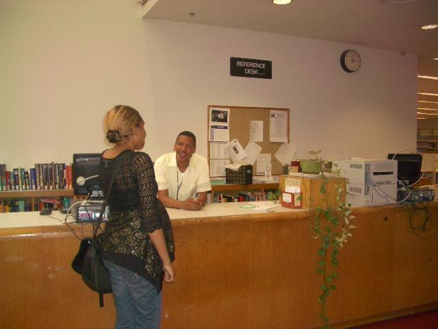Reference Desk, 2 nd Floor