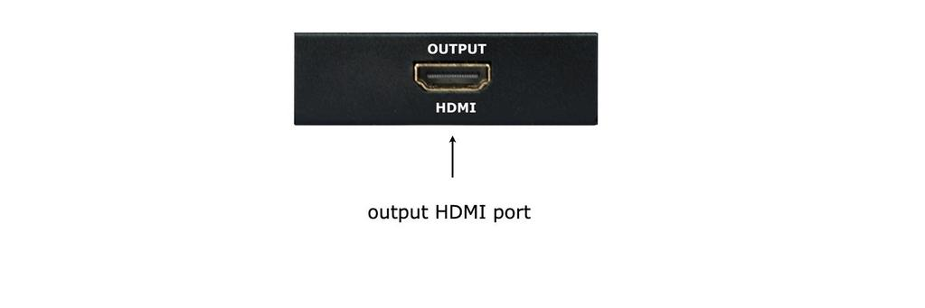 How to Setup 1. Take an HDMI cable and plug one end into the HDMI input port on HDTV or projector. Plug the other end into the output HDMI port on the switch. 2.