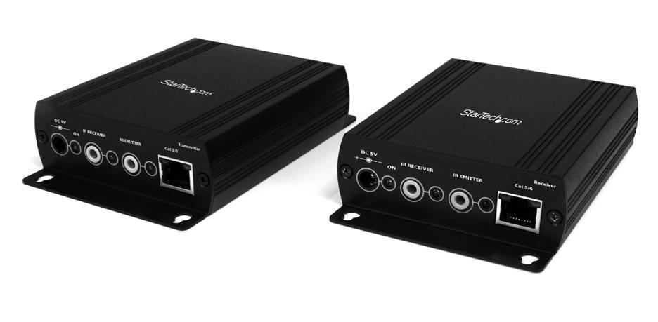 HDMI Video Extender over Cat5 RS232 and IR Control ST121UTPHDMI ST121UTPHDGB ST121UTPHDEU *actual product may vary from photos DE: Bedienungsanleitung - de.startech.