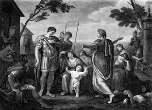 Act V, Scene III of Shakespeare s Coriolanus. Engraved by James Caldwell from a painting by Gavin Hamilton. The Roman hero known as Coriolanus is a slightly ambiguous version of this type.