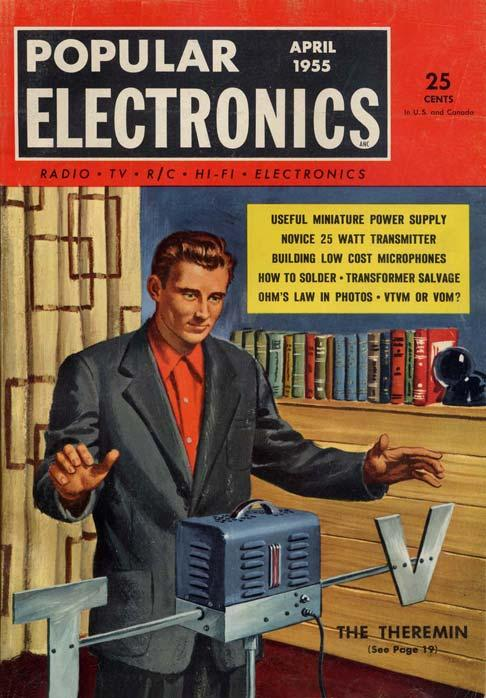 FIGURE 3. Popular Electronics cover, April 1955. (Courtesy Michael Holley s Southwest Technical Products Corporation Documentation Collection.