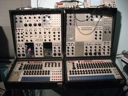 Moog and Buchla created the first