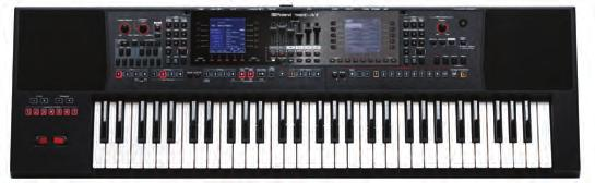ARRANGERS BK-3 BACKING ARRANGER Portable, self-contained and expandable keyboard with built-in sound system High-quality sounds, rhythms, and Music Assistants Compatible with music rhythms from