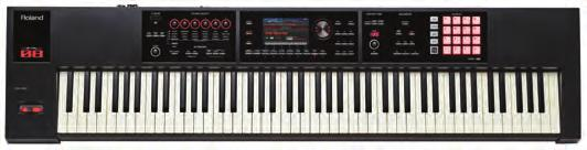 Roland s E-15, E-16 and other legendary E series machines E-A7 EXPANDABLE ARRANGER Over 1,500 versatile tones from all over the world WAV file import and onboard sampling function Huge library of