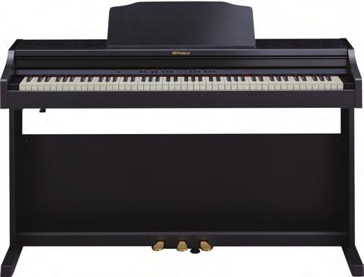 STAGE PIANOS RD-300NX STAGE PIANO SuperNATURAL Piano sound engine Innovative Sound Focus feature ensures that every note will be heard in the mix Ivory feel progressively weighted keyboard provides