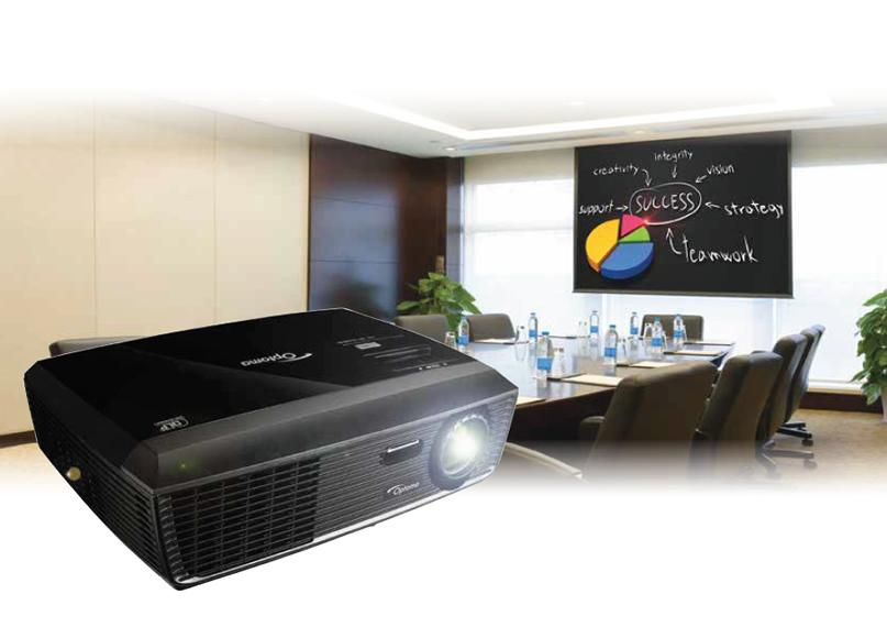 W301 Widescreen Viewing Bright projection 3000 ANSI Lumens WXGA resolution, 15,000:1 contrast