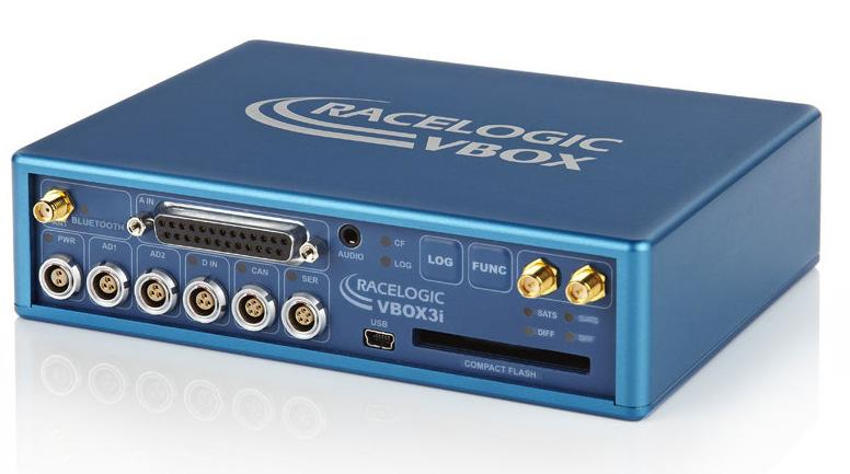 VBOX3i dual antenna (VB3iSL) is Racelogic s most powerful GPS data logging system.