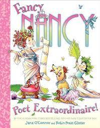 20 Title: Fancy Nancy: Poet Extraordinaire Author: Jane O Connor Illustrator: Robin Preiss Glasser Copyright Date: 2006 Identify the kind(s) of picture books: storybook Author s style: dialogue
