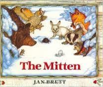 26 Title: The Mitten Author: Jan Brett Illustrator: Jan Brett Copyright Date: 1989 Identify the kind(s) of picture books: story book Author s style: narrative/dialogue Description of the art/visual
