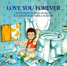 30 Title: Love You Forever Author: Robert Munsch Illustrator: Sheila McGraw Copyright Date: 1986 Identify the kind(s) of picture books: story book Author s style: dialogue Description of the