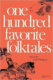 32 Title: One Hundred Favorite Folktales Author: Stith Thompson Illustrator: Franz Altschüler Copyright date: 1968 Identify the kind(s) of picture book: collection of folktales Author s style: mixed