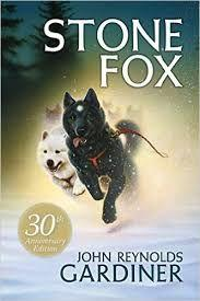 40 Title: Stone Fox Author: John Reynolds Gardiner Awards: none Reading Level: 4th grade Publisher: Scholastic Inc Copyright Date: 1980 ISBN #: 0-439-09510-7 Number of Pages: 81 Genre: Adventure