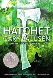 44 Title: Hatchet Author: Gary Paulsen Awards: Newbery Reading Level: 5/6 Publisher: Richard Jackson Books Copyright Date: 2000 ISBN #: 0689840926 Number of Pages: 208 Genre: Contemporary fiction