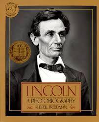 47 Title: Lincoln: A Photobiography Author: Russel Freedman Awards: Newbery Reading Level: 6th grade + Publisher: Scholastic Inc Copyright Date: 1987 ISBN #: 059042145x Number of Pages: 150 Genre: