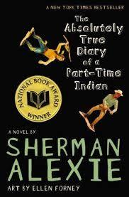 50 Title: The Absolutely True Diary of a Part-Time Indian Author: Sherman Alexie Awards: national book award Reading Level: Publisher: Hachette Book Group Copyright Date: 2007 ISBN #: 0316013680