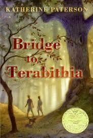 62 Title: Bridge to Terabithia Author: Katherine Paterson Awards: Newbery Reading Level: 5 Publisher: Trumpet Club Copyright Date: 1977 ISBN #: 0439366771 Number of Pages: 143 Genre: Realistic