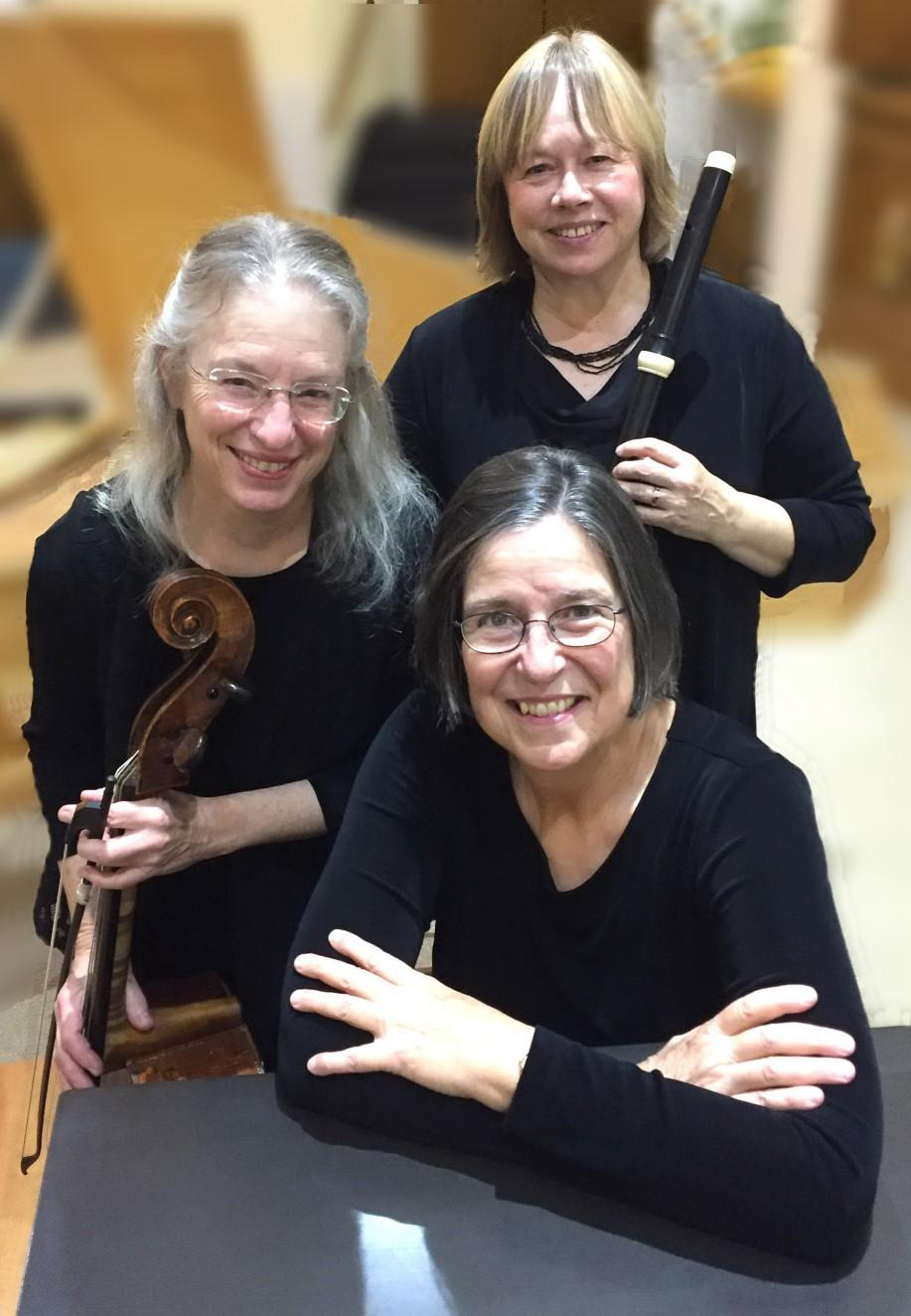 Marion Baroque The members of Marion Baroque include harpsichordist and organist Christa Rakich, viola da gambist and cellist Alice Robbins, and Baroque flutist Wendy Rolfe.