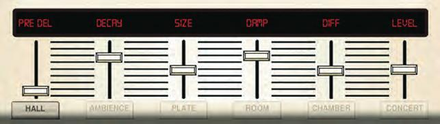 Use the 3-TAP DELAY to fatten up vocals and instruments, or to add an enhanced spatial element to any performance.