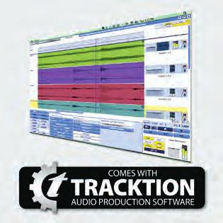 com, we ll reward you with a complimentary download code for the full version of Tracktion. Recording and editing couldn t be easier. To learn more about Tracktion, visit tracktion.com/support/videos.