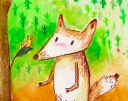 Directions: Read the following story and answer the questions below. The Fox and the Snail Swiss Fable One warm summer s day, a clever fox was resting by the meadow.