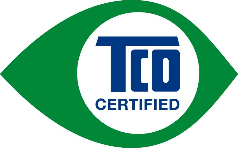 Congratulations! This display is designed for both you and the planet! The display you have just purchased carries the TCO Certified label.