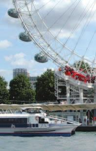 Leisure River Services Leisure River Services London Eye River Cruise London Eye River Cruise Departing conveniently from the pier at the London Eye, a 40-minute circular cruise includes live