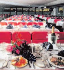 Leisure River Services Leisure River Services London Showboat Dinner Cruise London Showboat Dinner Cruise Cruise time 3 hours 30 minutes Imagine your favourite songs from the world s most famous