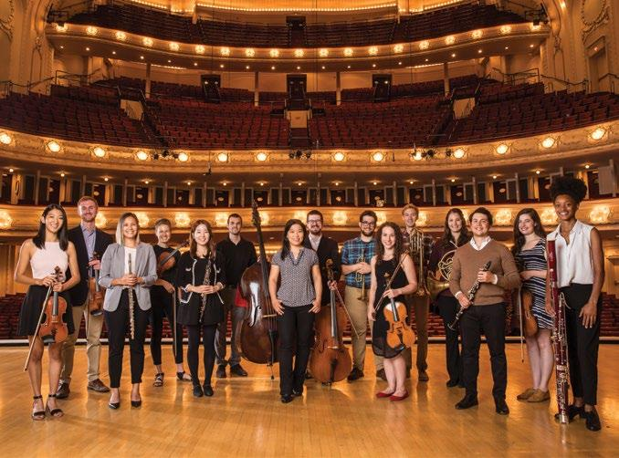 Civic Orchestra 2018/19 Concert Series To reserve tickets and for further series details, including numerous chamber concerts at Symphony Center and in neighborhood venues across the city, visit cso.