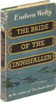 63 Eudora WELTY The Bride of the Innisfallen. New York: Harcourt, Brace and Company (1955). First edition, first state with single copyright date.