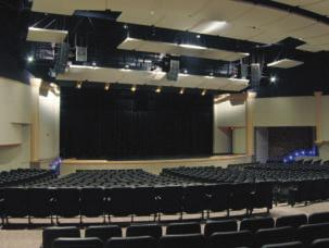 Feature By Keith Clark Audio Makeover A Michigan high school overhauls its sound system. A perspective of the completely renovated Fine Arts Auditorium of East Kentwood High School.