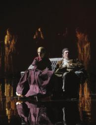 (Left to right) Richard Easton, Martha Plimpton and Ethan Hawke from the Lincoln Center Theater production of Voyage, part one of Tom Stoppard s trilogy, The Coast of Utopia.