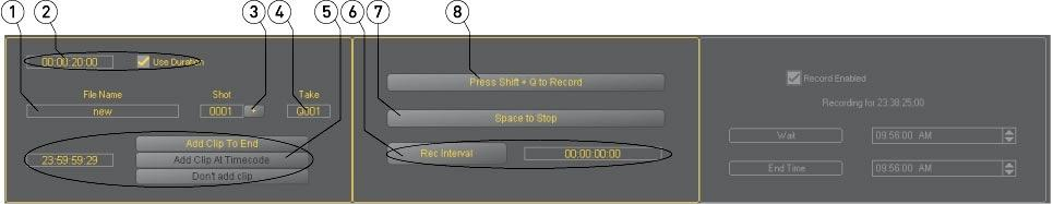 Input - Record From the main menus, select Operation Input Record. Alternately use the Operations Selector to select Input Record.