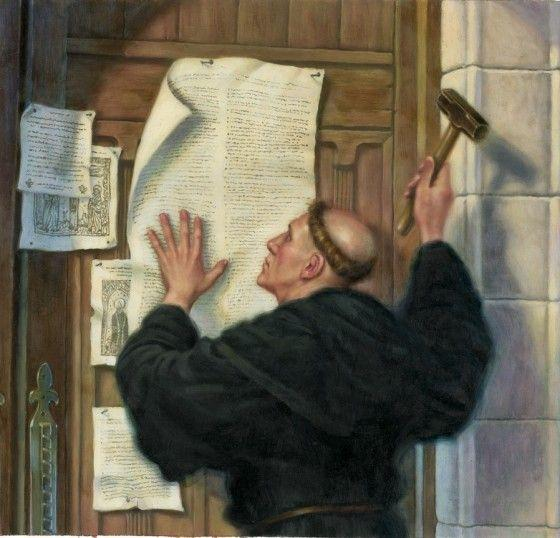 Martin Luther - Augustinian Monk 1517 and the 95 Theses Desire to move toward the vernacular