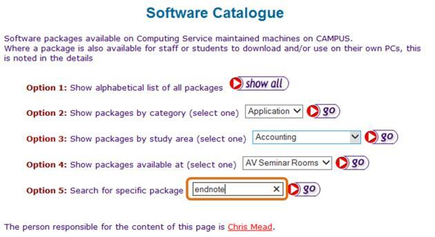 To install and/or purchase the latest version of the software visit the