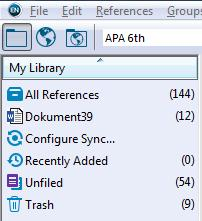 4.7 Showing Cited References in EndNote? EndNote creates a temporary folder with the name of the Word file (Fig. 19).