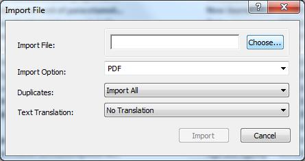 Managing your References using EndNote X8 (PC): getting started Click on the Integrated Library and Online Search button in the menu bar to return to your library where the imported reference can be