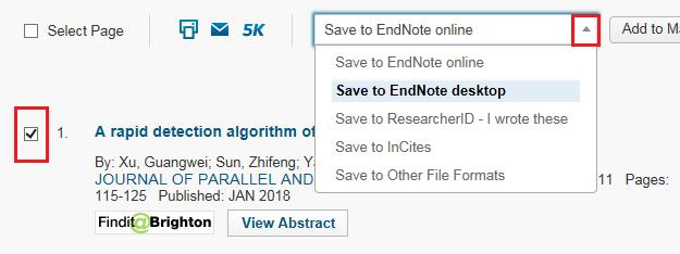 Getting started with EndNote X8 (PC) In both Firefox and Internet Explorer a dialogue box will appear with the option to Open or Save File. Select Open.