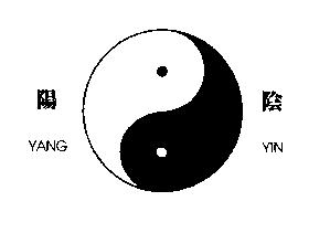 Yin and Yang The primary concept necessary to look at Feng Shui in depth is that of Yin and Yang. These two basic concepts describe the nature of qi around us.