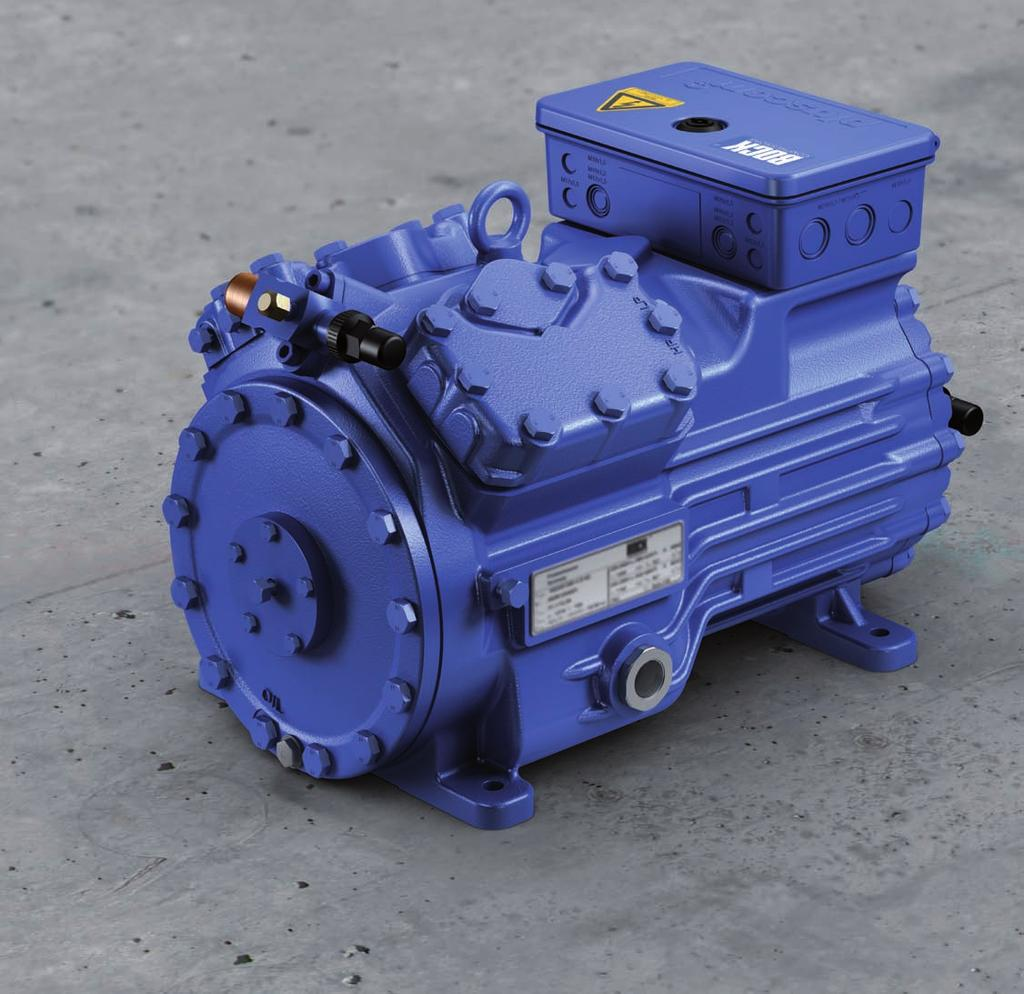 R407C compressors Semi-hermetic compressors for air-conditioning applications