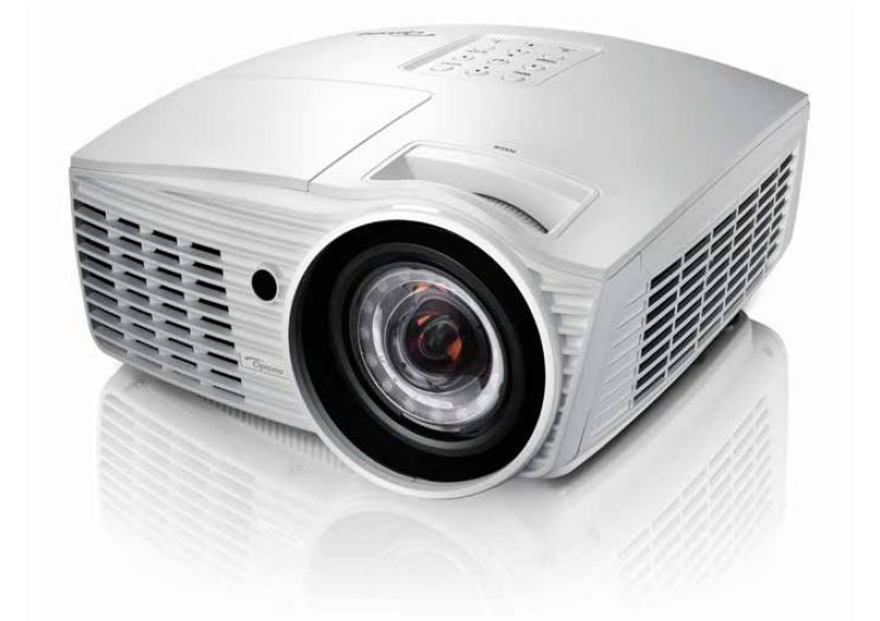 "EH415ST Bright 1080p projection - 3500 ANSI Lumens A compact and versatile package Short throw lens - 100"" image from just over a"