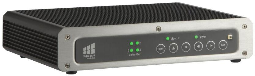 1.1 Introduction Figure 1-1: ivw-fd122 The ivw-fd122 video wall controller box is for displaying a single video input on an array of monitors, implementing a large display without the inherent high