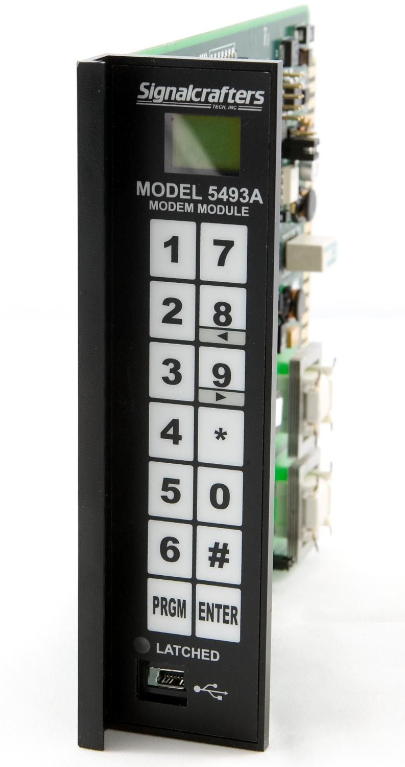 USER S GUIDE MODEL 5493A DTMF MODEM SIGNALCRAFTERS TECH, INC.