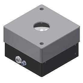 Spacer SPECTRO-3-28-45 /0 -OFL-D30 Spacer (please order separately) Spacer (offline unit) with an opening of Ø 30 mm for