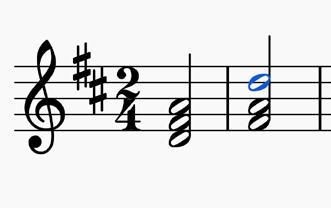 Task - Annotate your score with the examples below - Challenge: Can you find your own examples? Harmony Dominant 7 th = chord V7 The harmony uses the standard chords of the time (i.e. predominantly chords I, IV and V, with occasional use of II and VI), including dominant sevenths in various inversions.