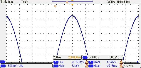 Pg. 20 AC MEASUREMENTS (A) AC PEAK VOLTAGE MEASUREMENTS: For best accuracy, want as large a sinewave as possible w/o overshooting the LCD