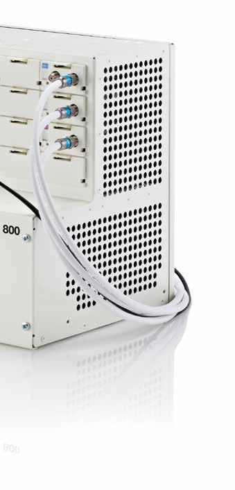 New standard for basic headend systems The TDH 800 is a basic headend system designed to provide basic reception and distribution of TV services for places such as residential complexes, small hotels